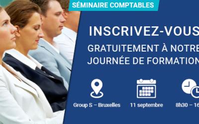 Séminaire comptables organisé le 11/09/2018 par le Group S
